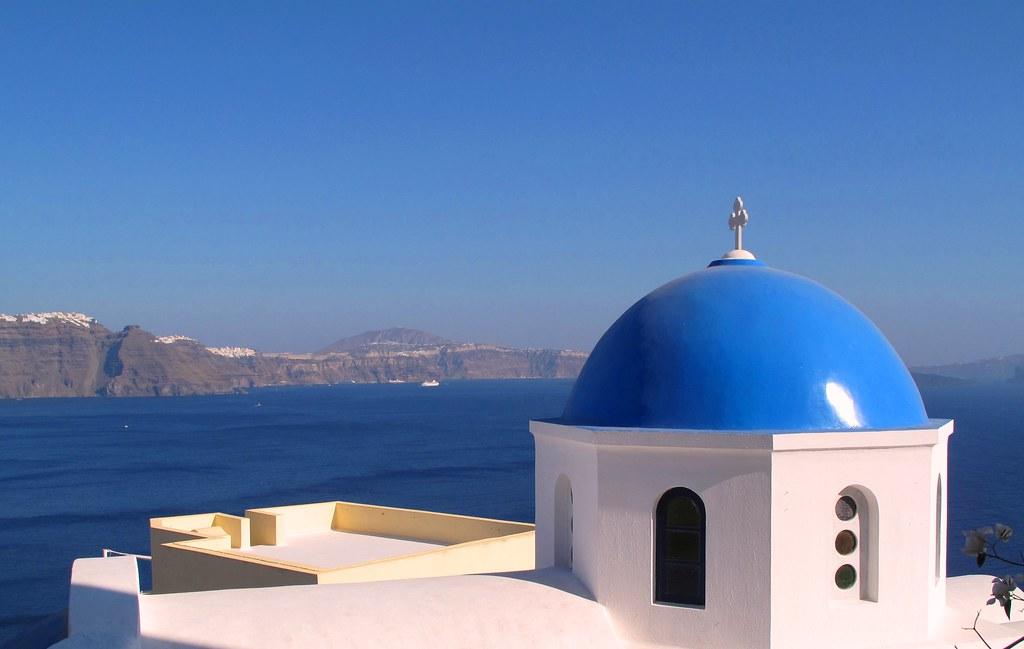 Blue-dome-Santorini wiki