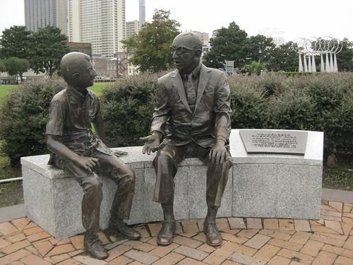 Day 1 - Woldenberg Riverfront Park - Statue