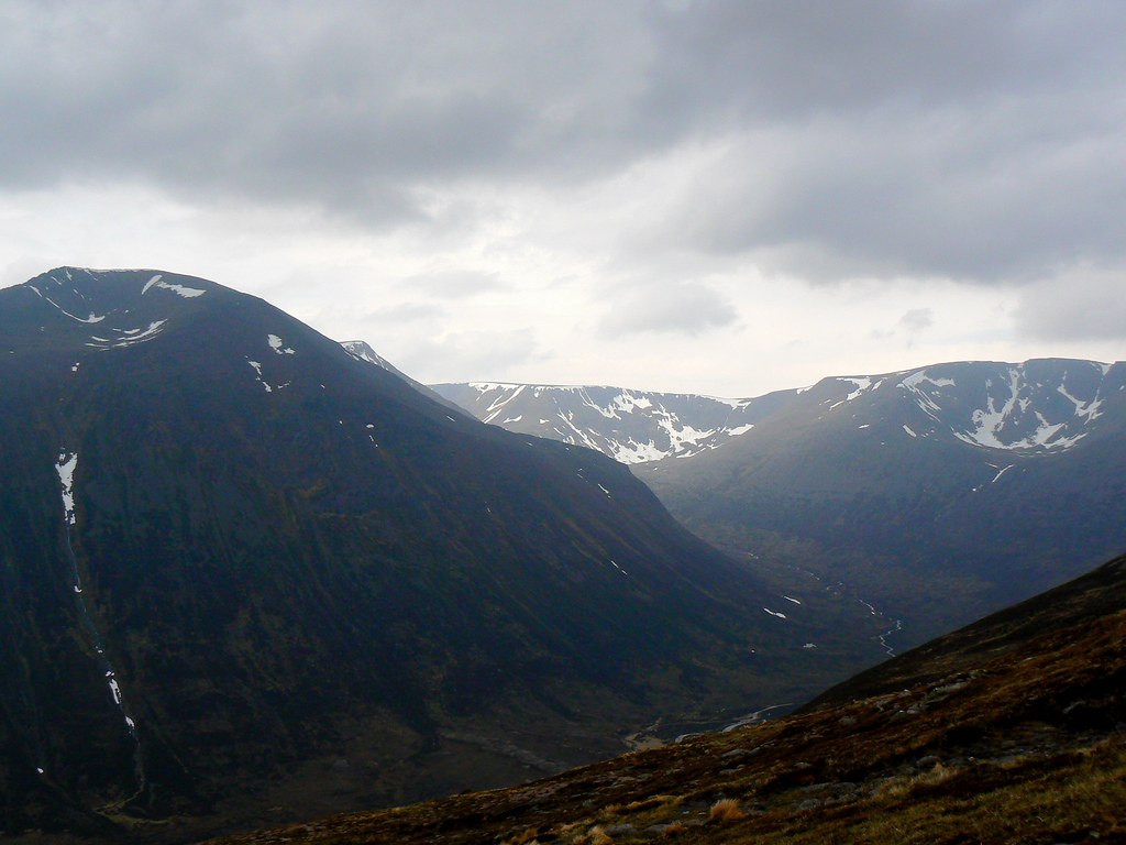 Cairn Toul and Braeriach
