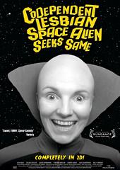 codependent-lesbian-space-alien-seeks-same-foto (QueerStars) Tags: coverfoto lgbt lgbtq lgbtfilmcover lgbtfilm lgbti profunmedia dvdcover cover deutschescover