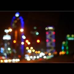Bokehlicious Dubai (JannaPham) Tags: street trip travel light holiday building colors architecture night canon wednesday landscape happy eos colorful dubai bokeh emirates 5d markii project365 bokehlicious 79365 happybokehwednesday jannapham