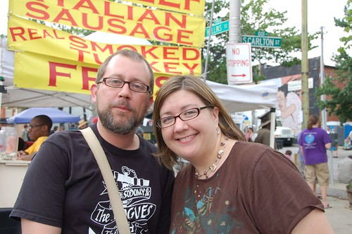 Tim and I at Sowebofest