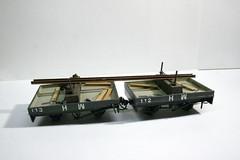 HWLR bolster wagons