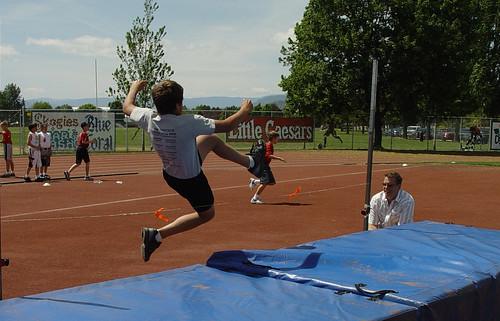 The High Jump...