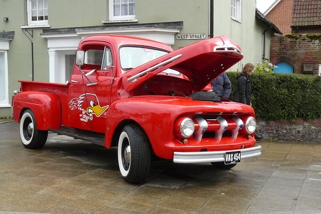ford pickuptruck f1 1951 watercressfestival