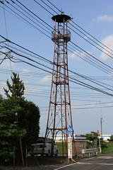 中山宮本の火の見櫓(川島町)