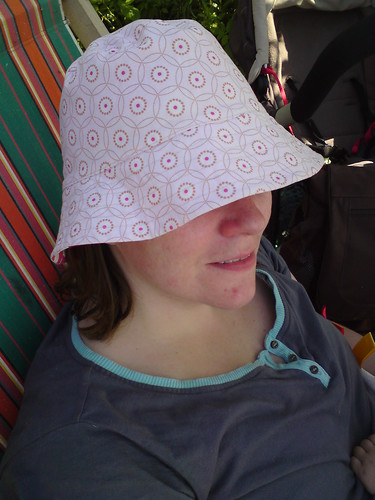 Sun Hat in Pink