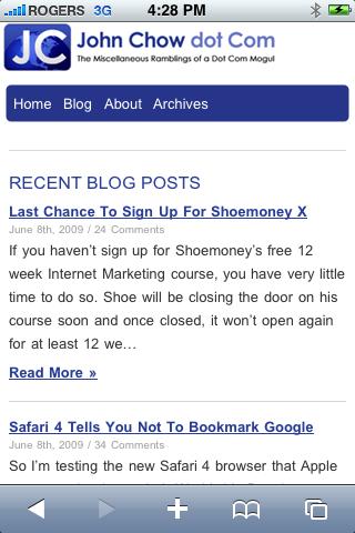 Mobile.JohnChow.com