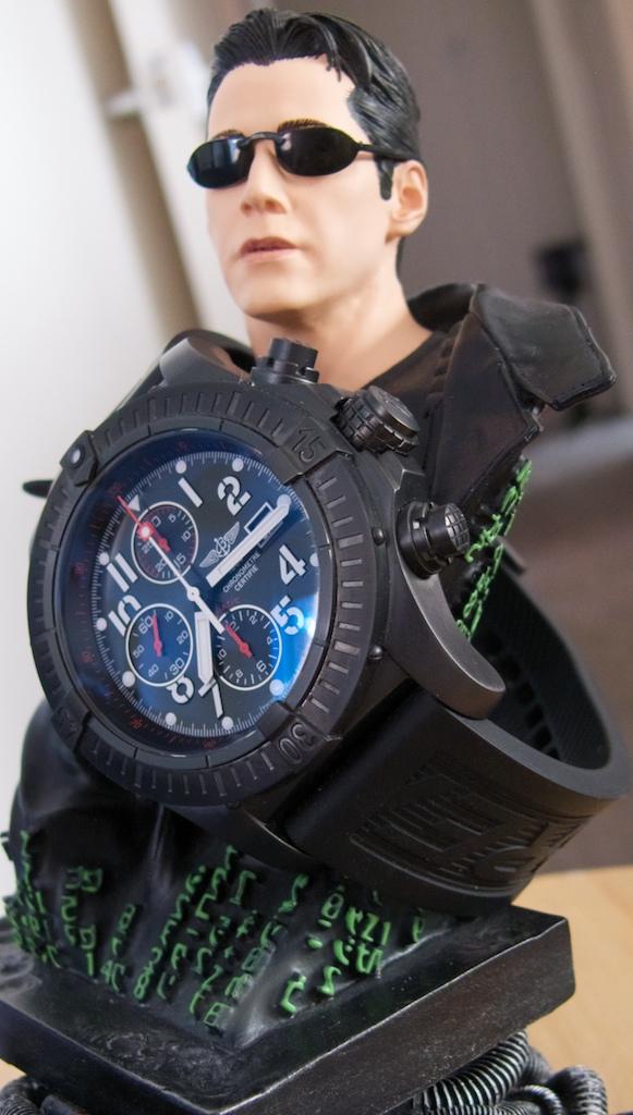 Breitling Super Avenger on Wrist Breitling Super Avenger