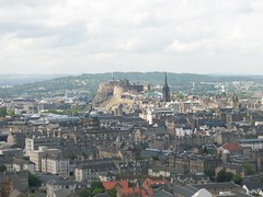 Edinburgh Castle CityScape (stuartpaterson) Tags: park trees sky mountain brick castle rock stone buildings edinburgh edinburghcastle hill capital royal palace medieval holyrood royalmile oldtown princesstreetscotland