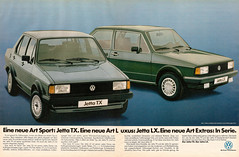 VW Jetta LX (1983) (jens.lilienthal) Tags: auto old cars car print advertising media reclame tx ad voiture advertisement advert older jetta 1983 autos werbung reklame voitures lx anzeige
