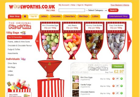 Wollies pick n' mix