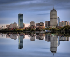 Boston in the Mirror (Werner Kunz) Tags: city trip travel vacation urban usa holiday building tower boston skyline america photoshop buildings john ma mirror town us downtown unitedstates massachusetts centre urlaub charlesriver towers north skylines newengland charles center american getty northamerica 100 40 hancock amerika johnhancock turm zentrum beacon dri prudential hdr backbay prudentialcenter hdri werner reise gebaeude tpc beantown hochhaus skyscrapper wolkenkratzer gettyimage johnhancocktower kunz photomatix tuerme vereinigtestaaten nordamerika vereinigtestaatenvonamerika 20fav explored hochhaeuser colorefex nikond90 topazadjust werkunz1 tpcu13l1 tpcu13