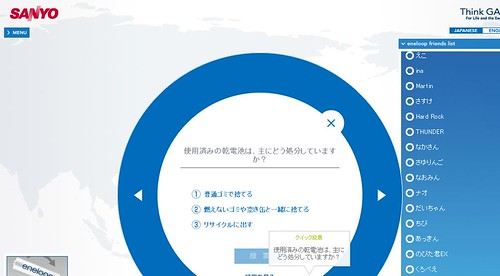 eneloopの輪に入ろう by you.