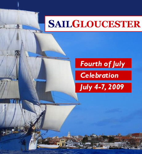 click picturte for SailGloucester July 4-7 Schedule of Events