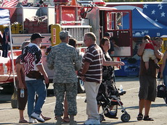 (OrangeCounty_Girl) Tags: california ca people food festival cali army military entertainment socal firemen orangecounty 4thofjuly oc peoplewatching meninuniform losalamitos armybase hnc fireworkshow orangecountygirl hollyclark 79714 julyroth losalamitosfiretruck hollyclark714 hnc714 holly714