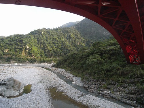 你拍攝的 23立霧溪與砂卡噹溪。