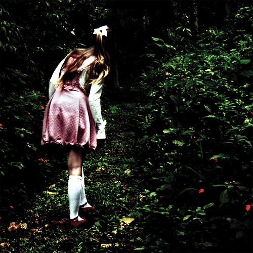 Alice entra no bosque onde as coisas não têm nome