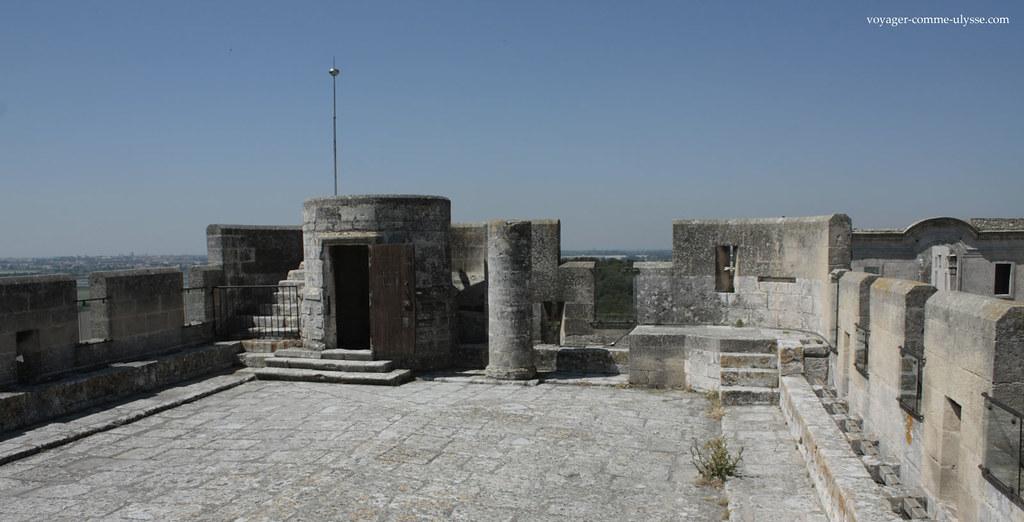 Sommet de la tour Pons de l'Orme