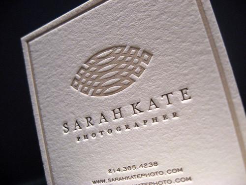 Sarah Kate Photography Cards - Closeup