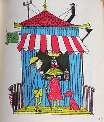 Candy shop (Boxwoodcottage) Tags: 1969 children book spektakel stiglindberg lennarthellsing krakel