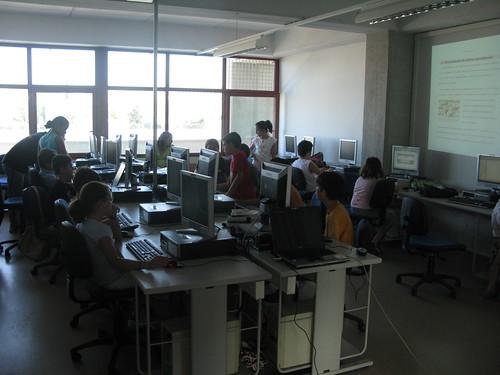 Campus infantil de programación con software libre (by jmerelo)