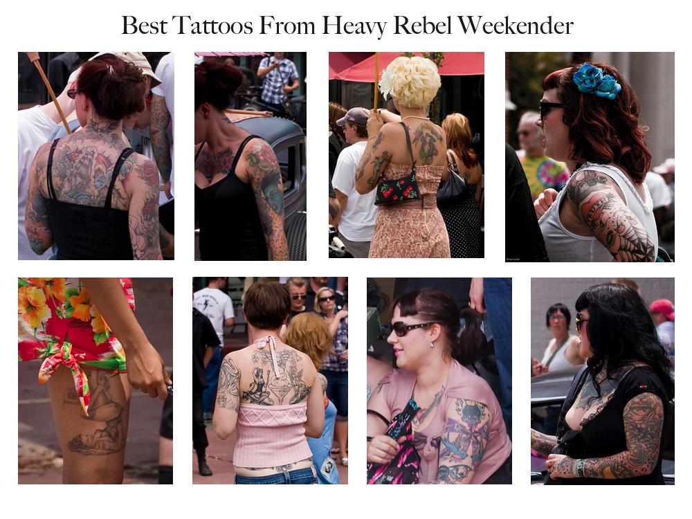 Best Tattoos from Heavy Rebel