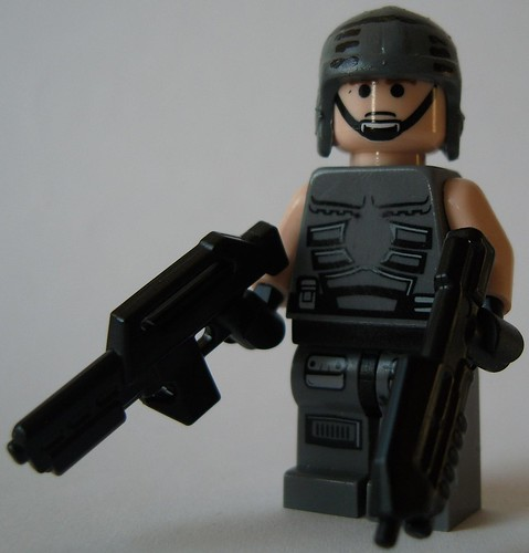 Starship Trooper custom minifig