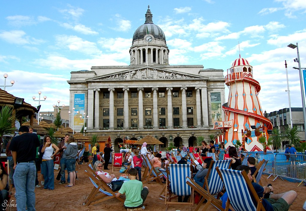 La playa de Nottingham