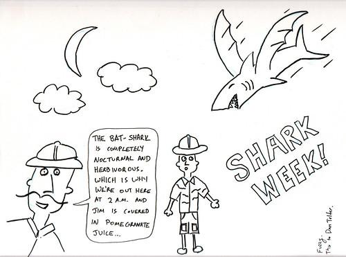 366 Cartoons - 183 - Bat-Shark