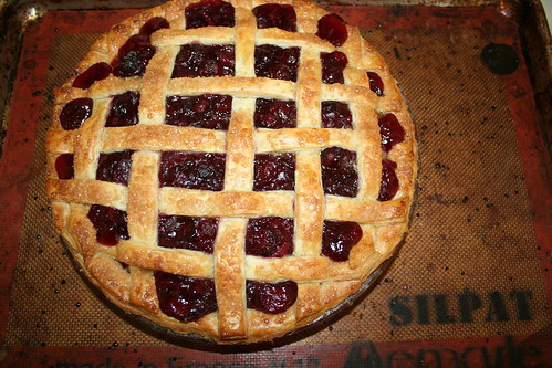 our first california cherry pie