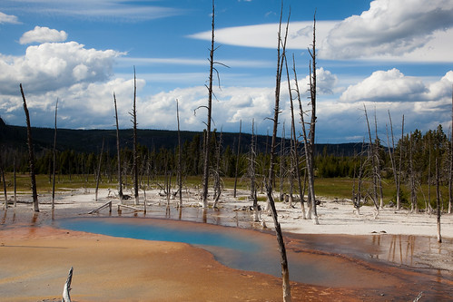 Opalscent Pool at Black Sand Basin