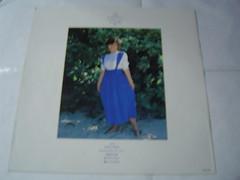 原裝絕版 1986年 6月30日 南野陽子 Yoko Minamino 春景色 黑膠唱片 原價  2800YEN 中古品 3