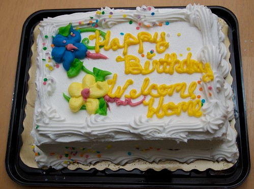 Meli's birthday cake