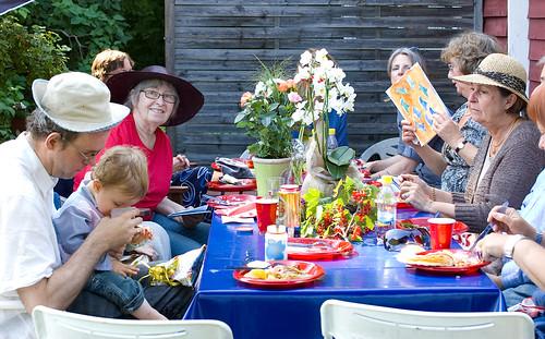 Eva firar 70-årsdag