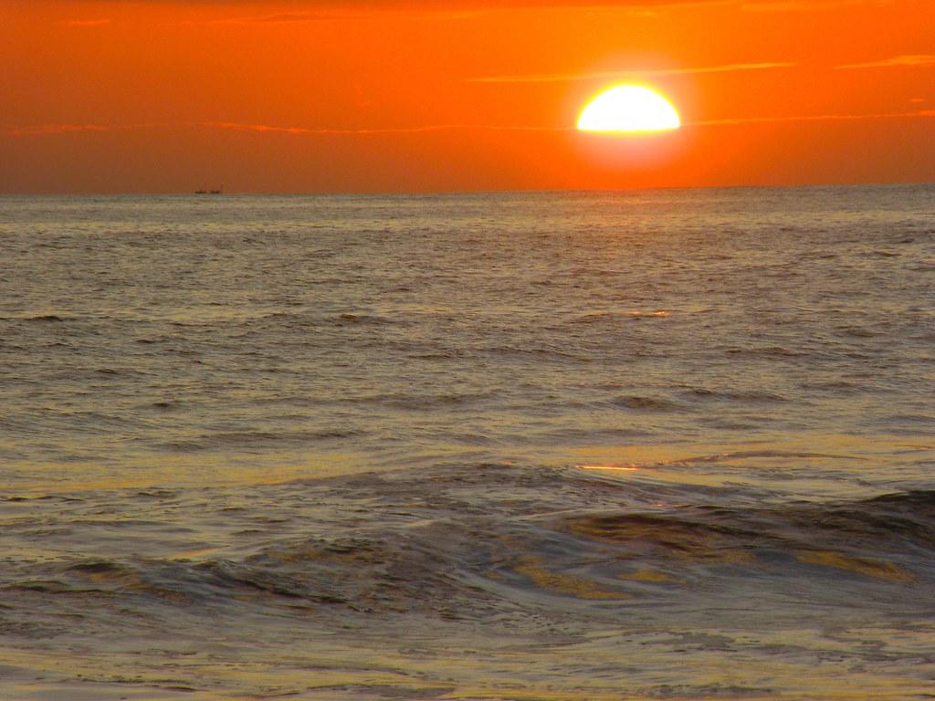 Mis Fotos de Un Atardecer en la Playa