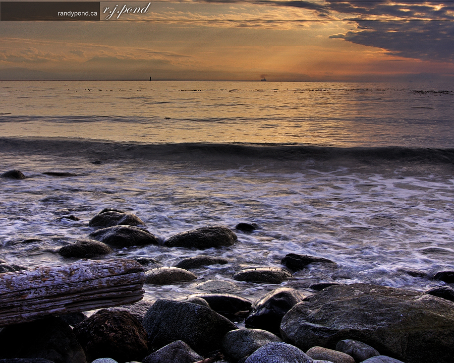 ~ Cropped HDR Ocean ~
