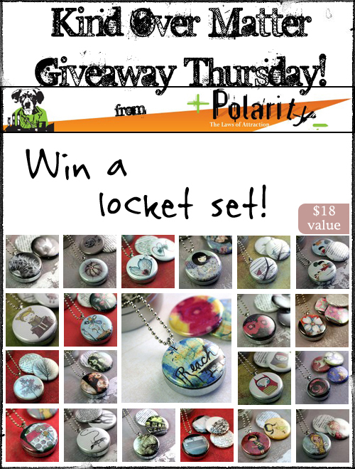 Polarity Giveaway on Kind Over Matter!
