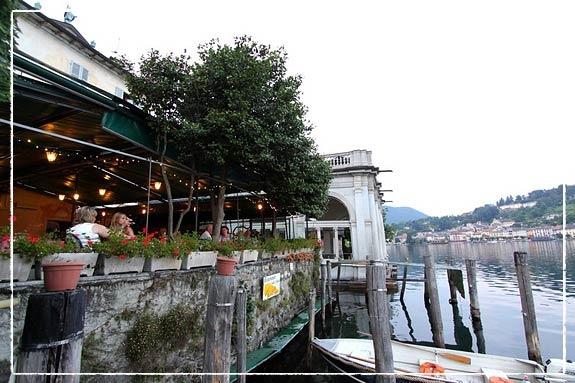 San-Giulio Restaurant Lake Orta