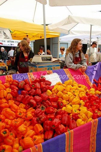Bell Peppers stall
