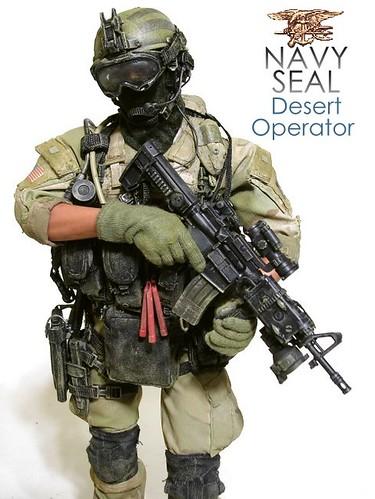 USSOCOM NAVY SEAL DESERT OPERATOR