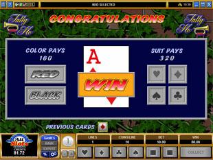free Tally Ho gamble bonus game