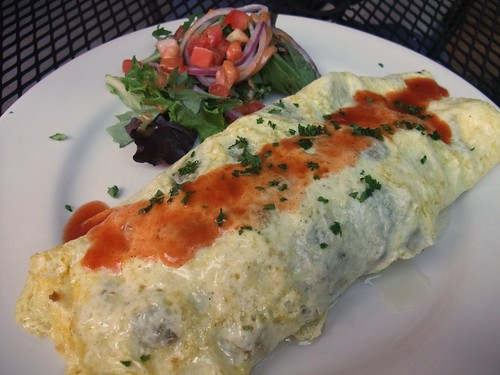 Enchilada Omelette from Banana Bean Cafe