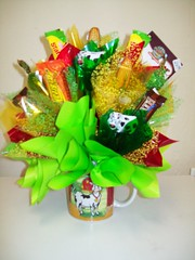 Farmer (Candy Bouquet) Tags: cow candy gift present bouquet farmer