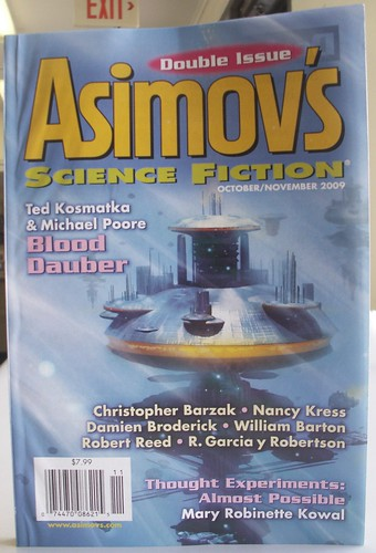 Contributor's Copy: October/November 2009 Asimov's
