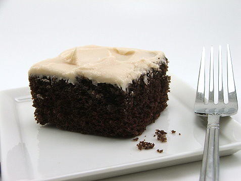 Chocolate Spice Cake with Brown Butter Frosting