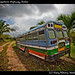 Defunct bus, Southern Highway, Belize