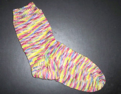 Sunshine - Twist - Wildflowers - Sock 1