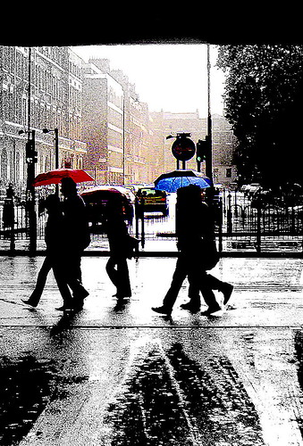 You may need an umbrella today!! (Source: george erws)