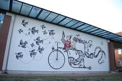 . (.parsprofoto*) Tags: urban streetart adam art project painting graffiti mural action swoon live kunst exhibition jana bronco artshow tilt 2009 flyingfortress evol moki boxi 1010 56k daim eine akim lueneburg lneburg jayone akay davethechimp loomit vitche faith47 inck zevs alexdiamond braddowney zezao tryone herbertbaglione parsprototo danielman reinking skki victorash leuphana herakut beneine mirkoreisser piusportmann rikreinking reinkingprojekte dtagno artotale